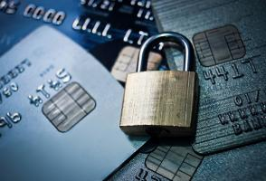 Credit cards and lock